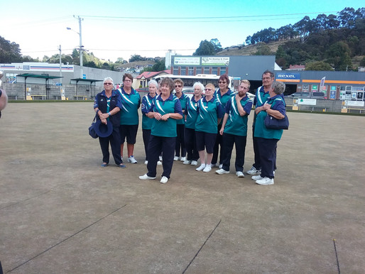 First Devonport Country Club Bowls Pennant Winners!