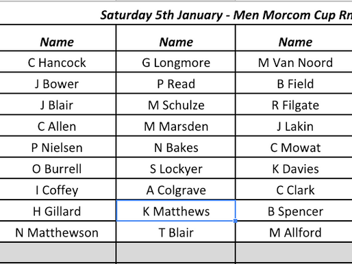 Subway Morcom Cup and Ladies 36 hole Championships