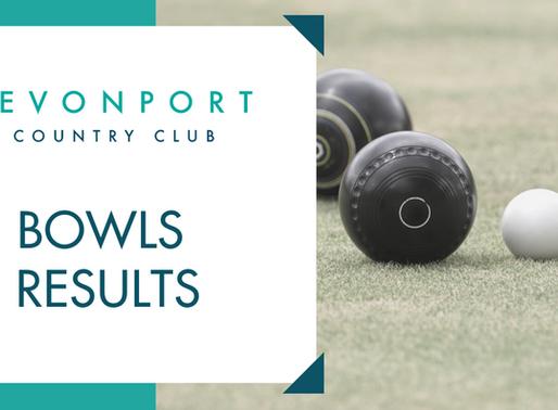 Bowls Results Week Ending Sun 23rd February 2020