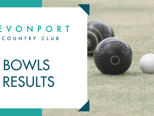 Bowls Results Week Ending Sun 23rd February 2020