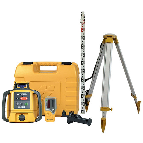 LASER LEVEL, STAFF& TRIPOD - SELF LEVELING