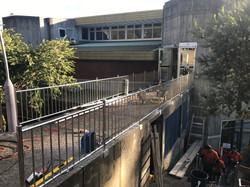 Handrail installation Don College