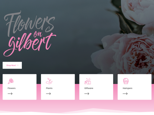 Flowers on Gilbert