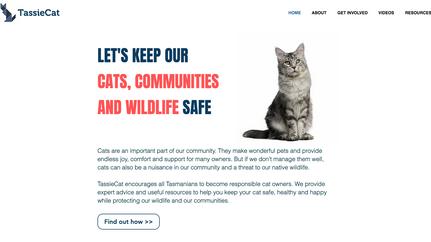 Tasmanian Cat Management Project