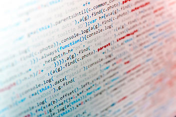 Software abstract background. IT coding