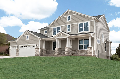 New Home Exterior in Wisconsin