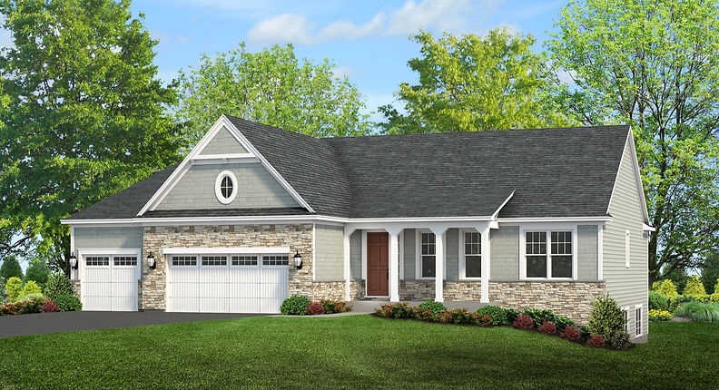 Build On Your Lot Custom Homes Exterior