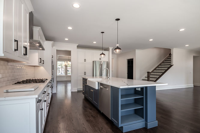 Build on Your Lot Home Kitchen Wisconsin