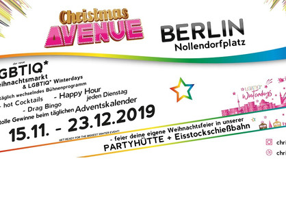 Berlini Karácsonyi LMBT vásár
