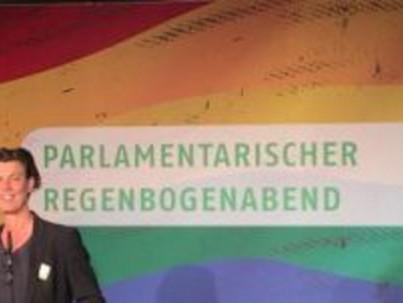 Szivárvány Este a Német Parlamentben