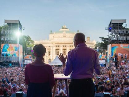 Europride Bécs - Beszédet mondott az államfő!
