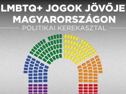 Budapest Pride fesztivál: Lmbtq+ jogok jövője Magyarországon - politikai kerekasztal