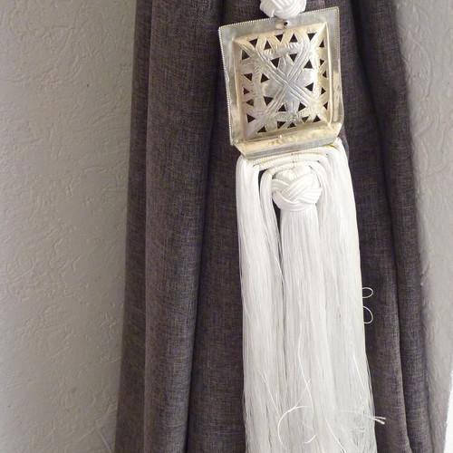 Cortinas marroquies curtain cortina decoracin deco home - Telas marroquies ...