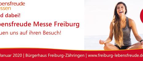 Besuchen Sie uns auf der Lebensfreude Messe in Freiburg