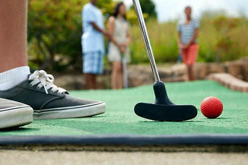 Mini golf - labyrinthe - course d'orientation