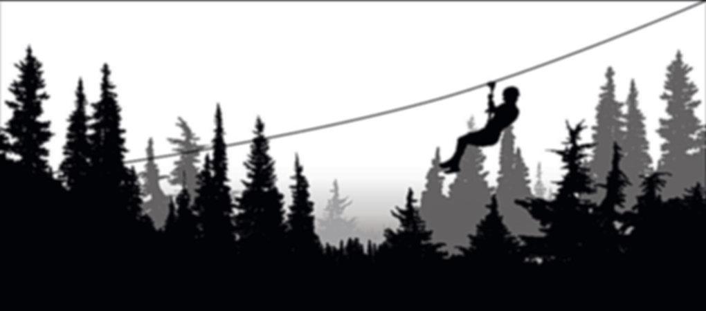 tyrolienne au vertigo parc