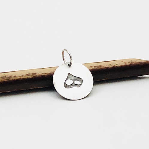 Silver charm Persian alphabet, Initial, personalize