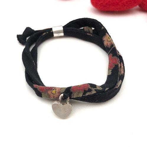 Heart adjustable bracelet