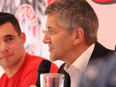 Erfolgreicher Besuch von FCB-Präsident Herbert Hainer in Ostbevern