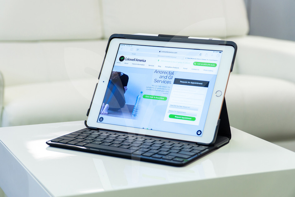iPad website services GI