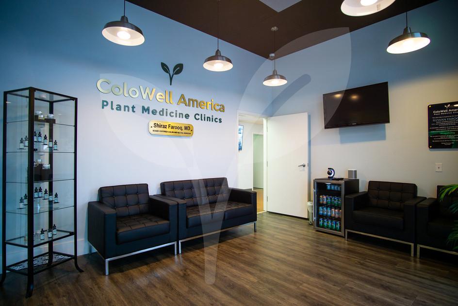 Waiting room amenities