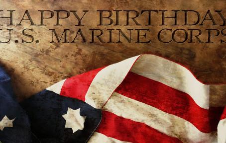 HAPPY BIRTHDAY US MARINE CORP