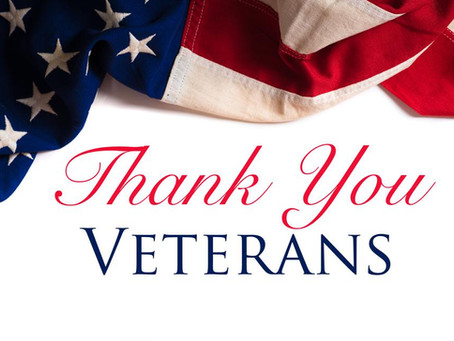 We Salute our Veterans, Past, Present and Future