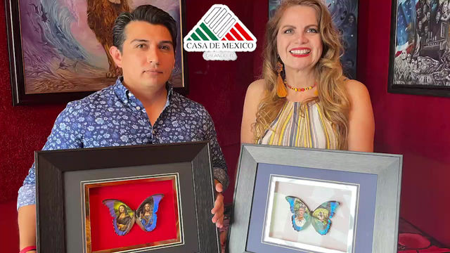 Arte con Dulces, Mariposas y Pasta de Diente. Entrevista al Artista Plástico Mexicano Cristiam Ramos