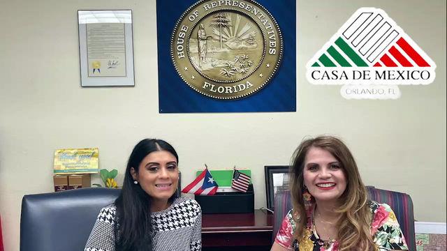 Entrevista con la representante de los Estados Unidos Daisy Morales.