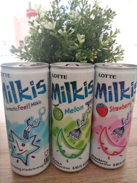 Tradiční korejský nápoj MILKIS (fermentované mléko s bublinkami). V Koreji je to nejpopulárnější nápoj a doporučuje se dětem a důchodcům pro zdravé kosti.