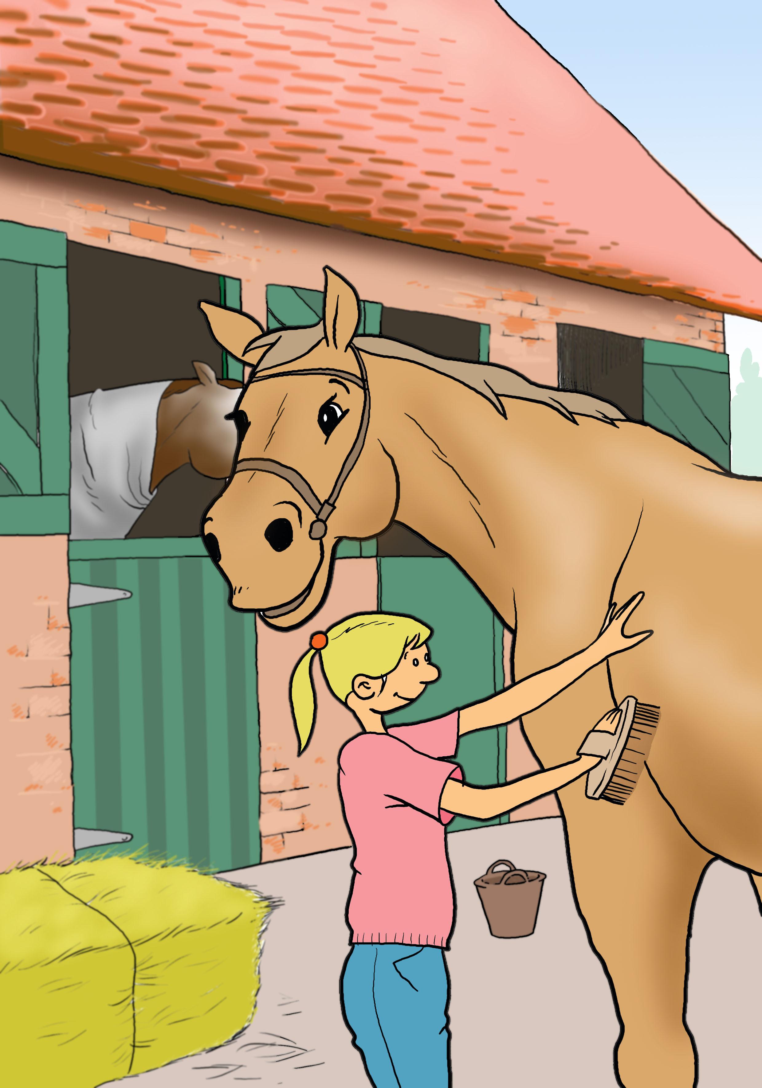 omslag paarden