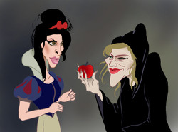 Amy and Madonna