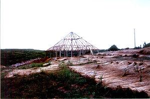bioconstrução, ecoconstrução, bioarqutetura, casa de fardo, casa de terra, escola rama