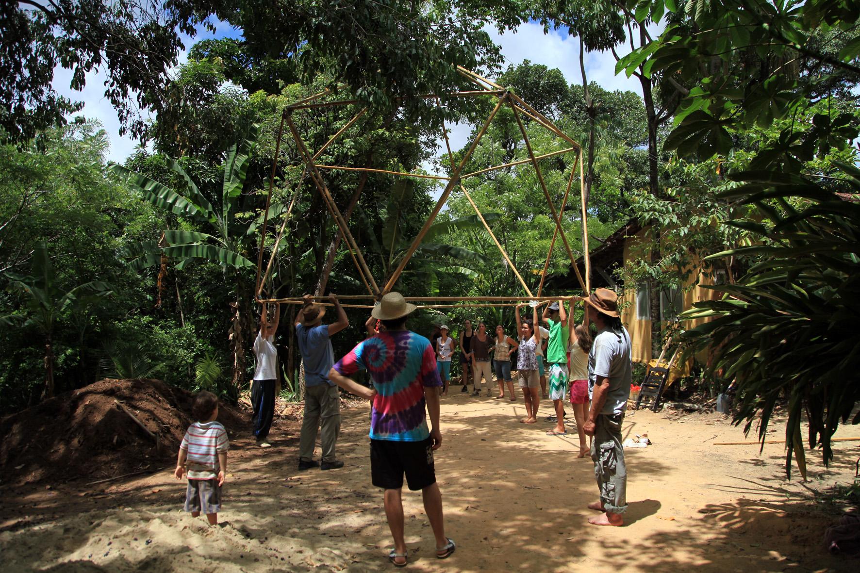 Pentágono de Bambu