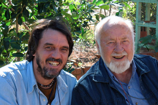 João Rockett + Bill Mollison