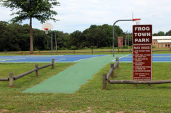 Photo of entrance to Frog Town Park