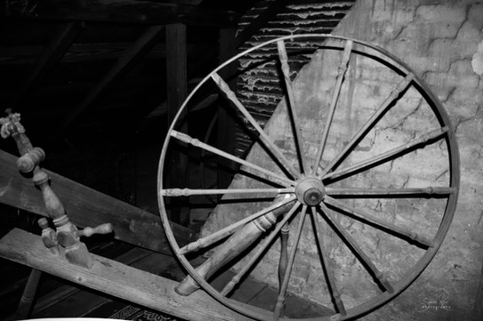 Photo of spinning wheel at The Pillars