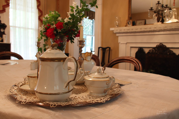 Photo of table setting at The Pillars