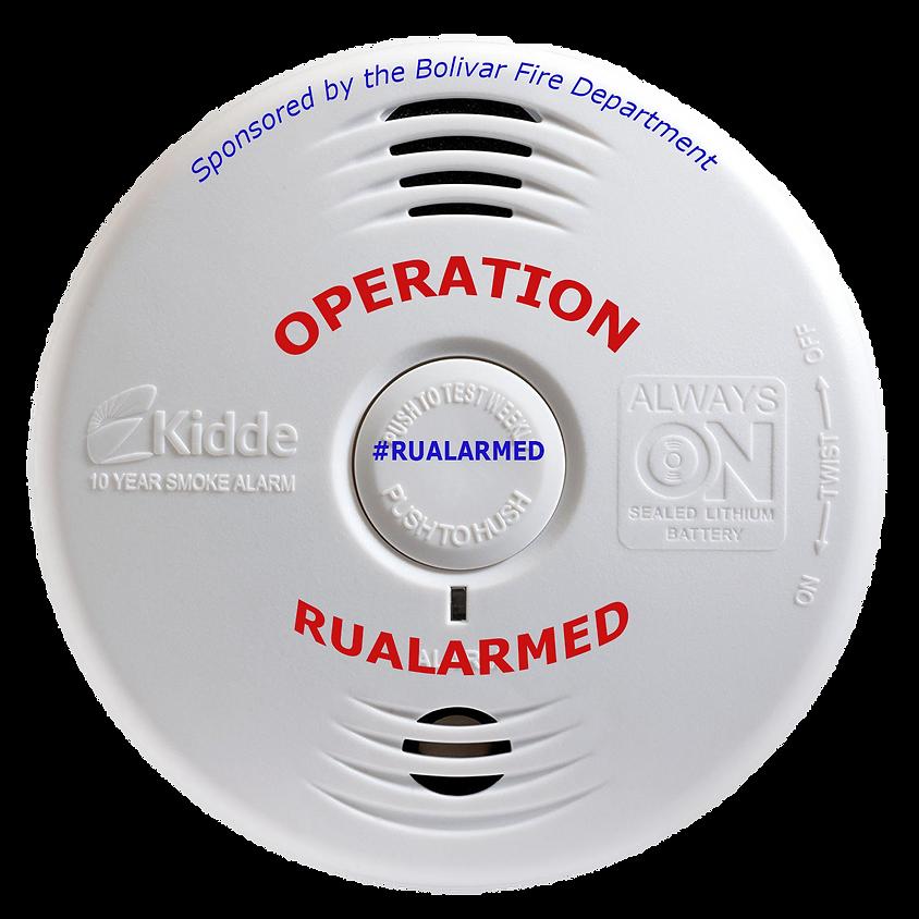Operation RUALARMED Smoke Alarm Canvass