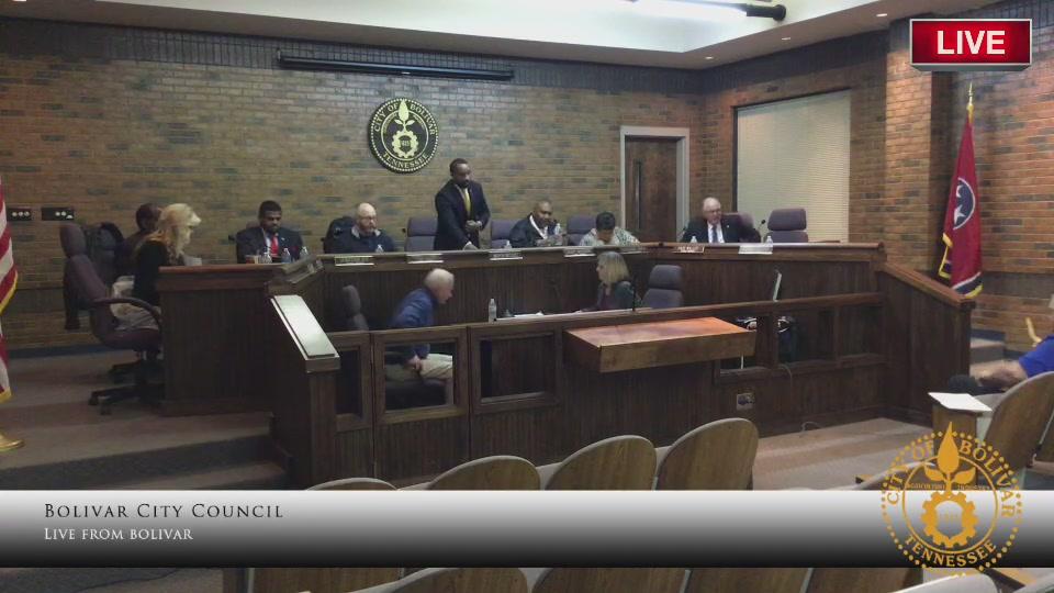 Bolivar City Council Meeting-February 11, 2019