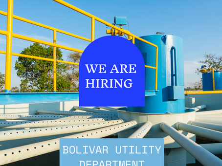 Bolivar Utility Department seeks to fill position