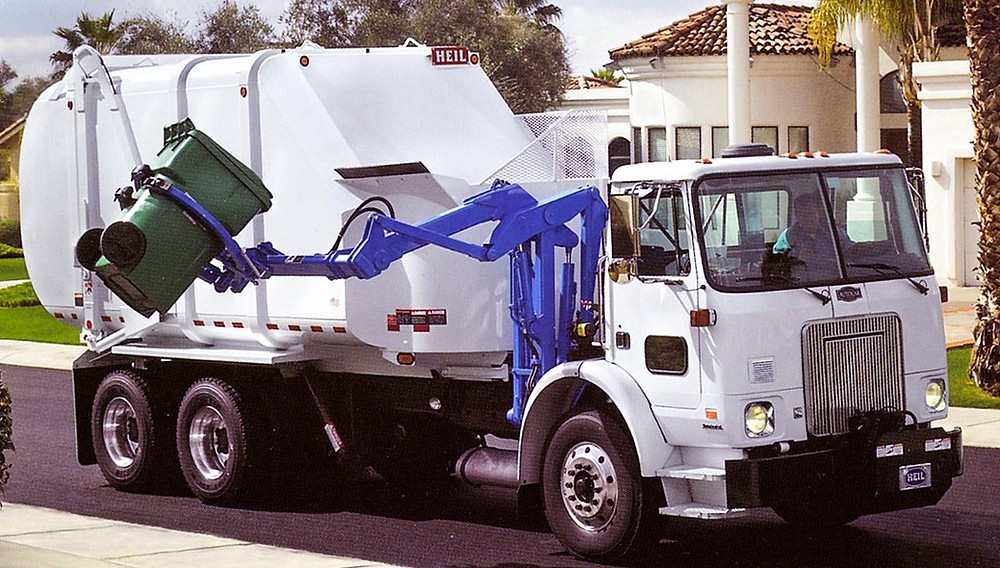 Photo of garbage truck