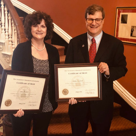 Cathy Mayfield Awarded Special Commendation for Historic Preservation
