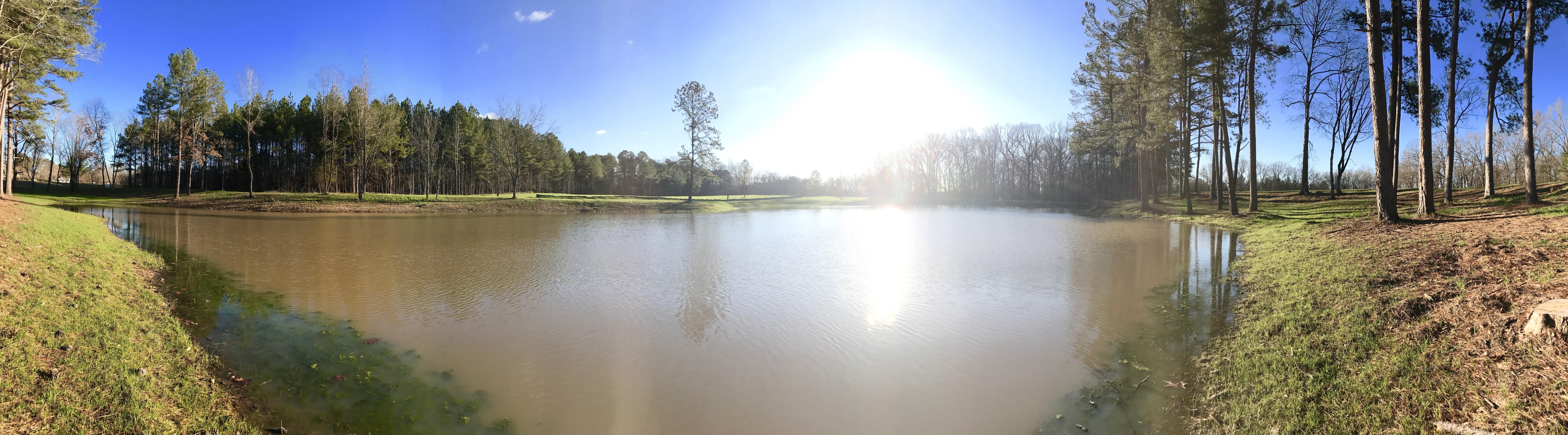 Sunrise at Pleasant Creek