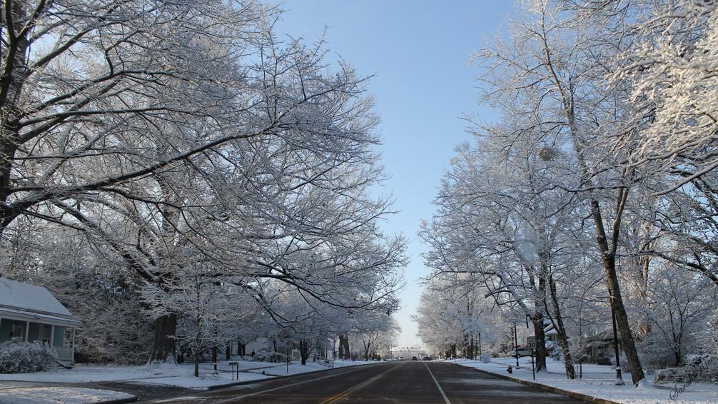 Winter On North Main