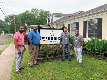 Bolivar Police Department Donates to the Warriors Center