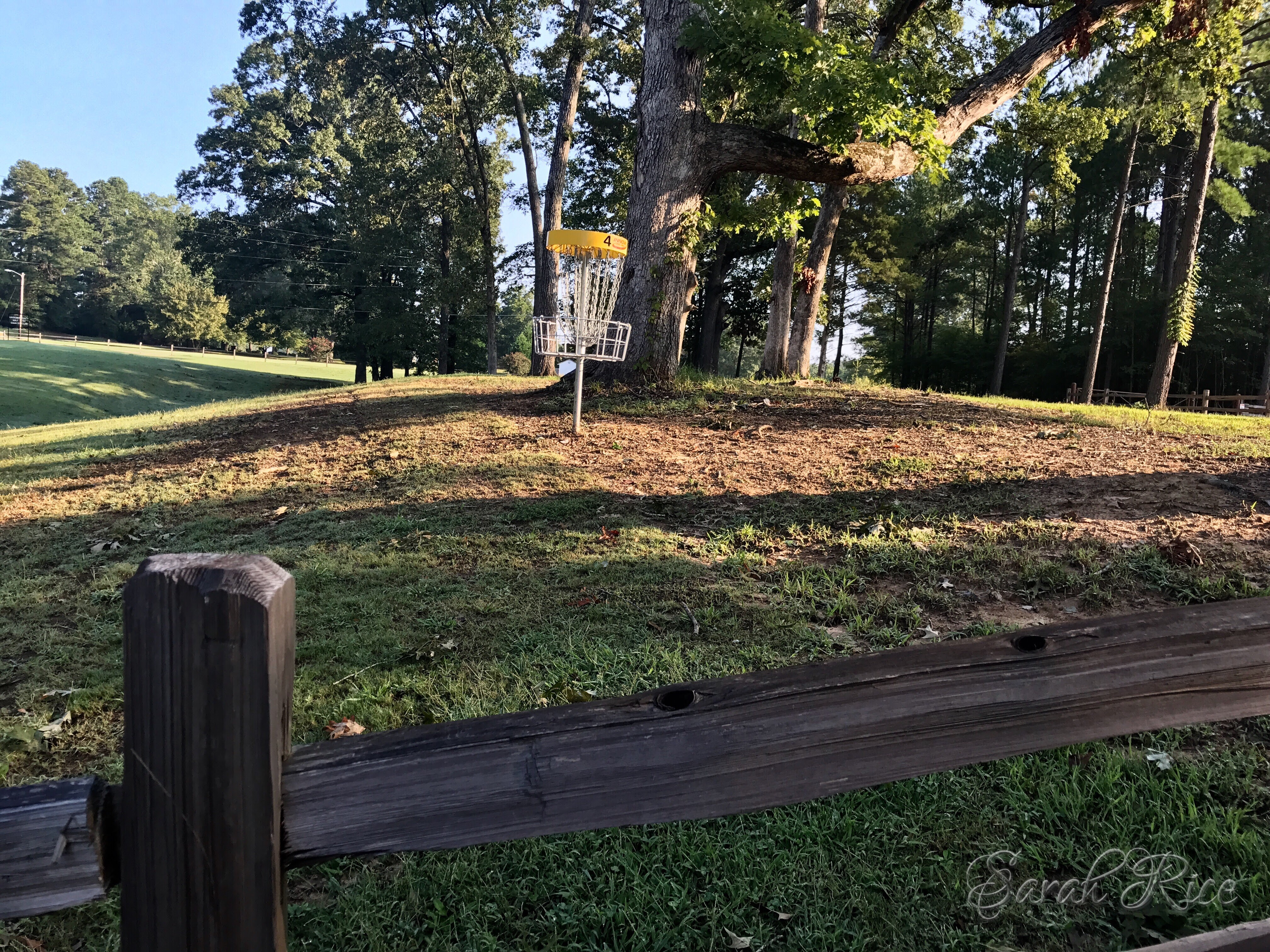 Photo of disc golf course