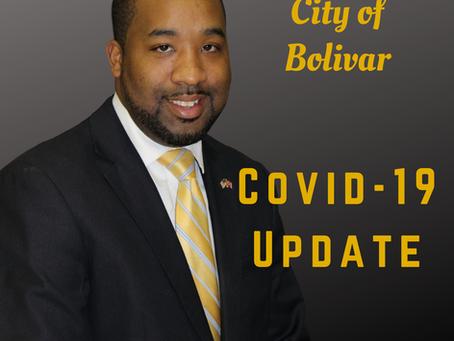 City of Bolivar COVID-19 Update