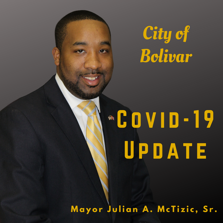 City of Bolivar COVID-19 Update