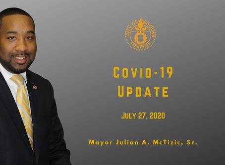 Mayor Addresses COVID-19 Concerns